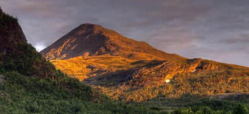 Sonnenuntergang auf norwegisch