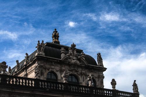 Dresden - Dachansicht
