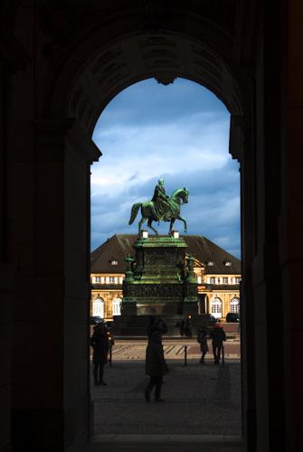 Dresden - König-Johann-Denkmal