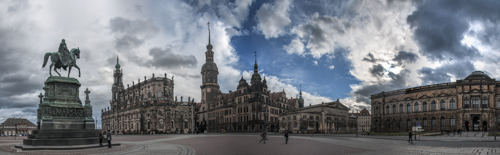 Dresden - Theaterplatz