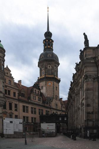 Dresden - grünes Tor